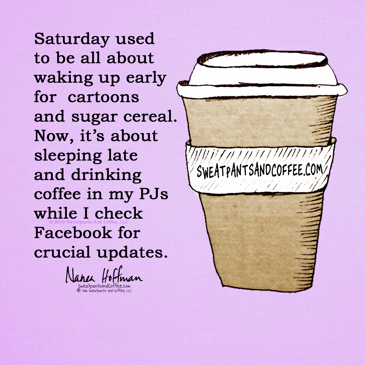 Saturday Coffee and FB.jpg