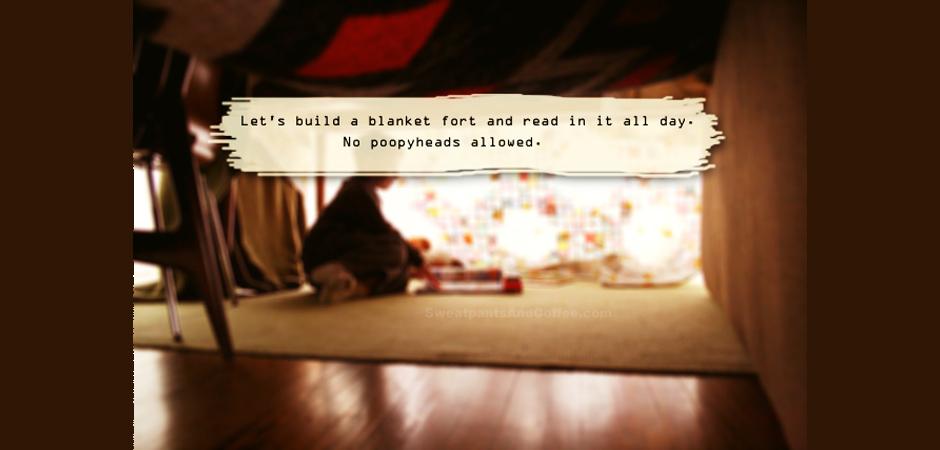Blanket Fort copy slide blanket fort copy slide