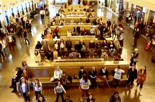 Cancer Survivor Flash Mob