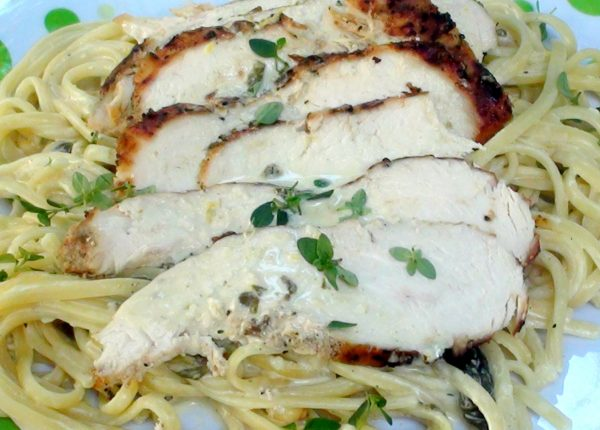 Chicken and pasta 2