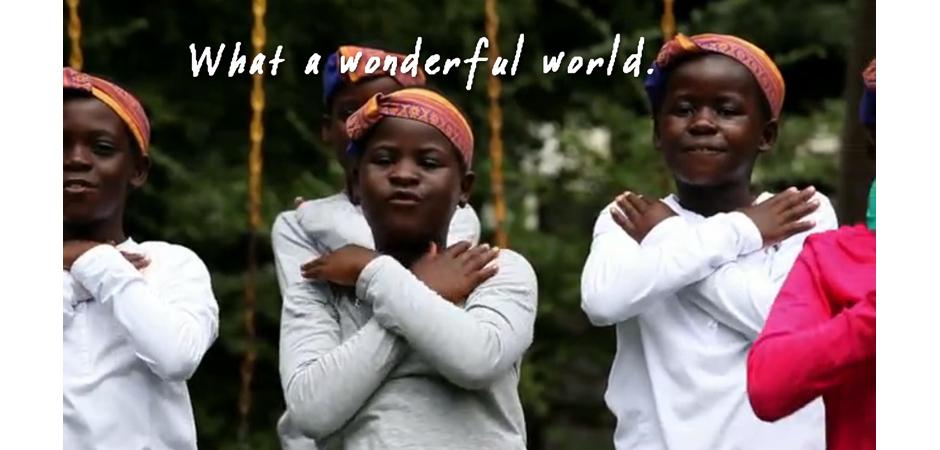 Wonderful World slide