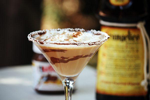 Creamy Frangelico Nutella Martini
