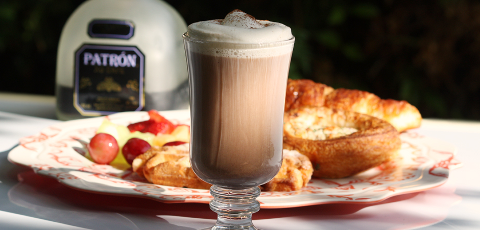 Cocktail Corner Brunch Edition Patron Xo Cafe Latte Sweatpants Coffee
