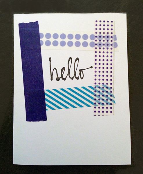 Washi Tape Cards 4