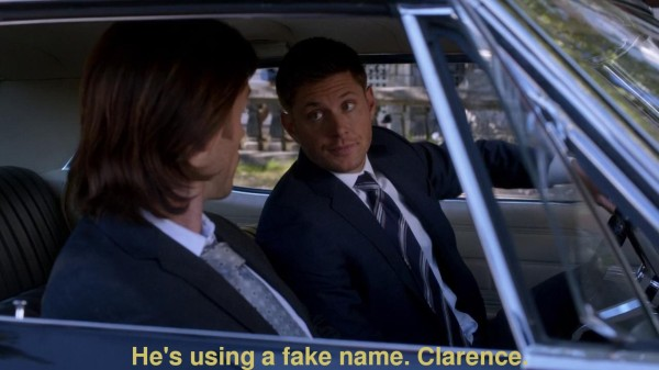 Supernatural Castiel Clarence 1