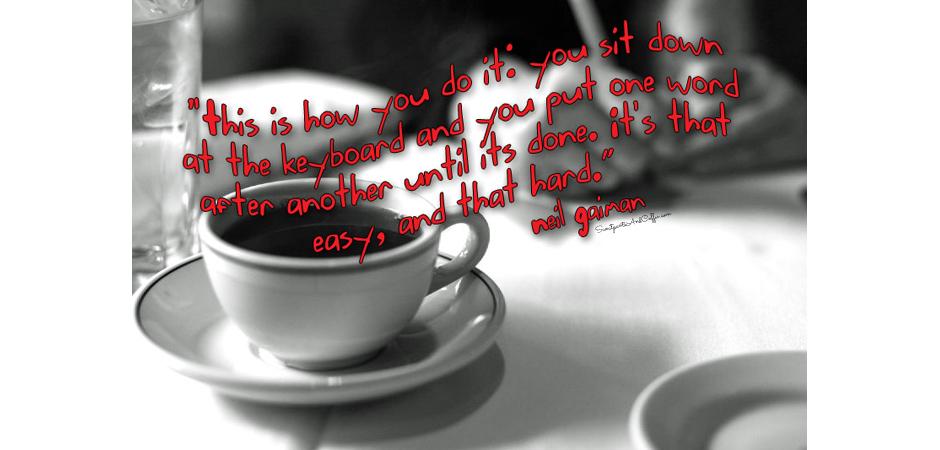 Coffee And Writing slide