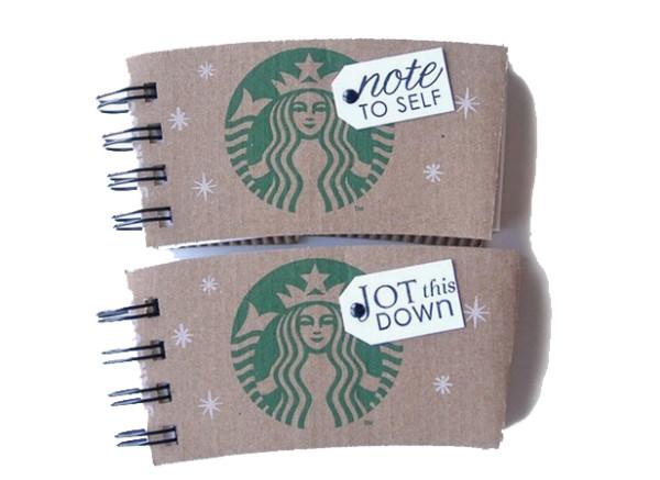 Coffee Sleeve Notebook FB