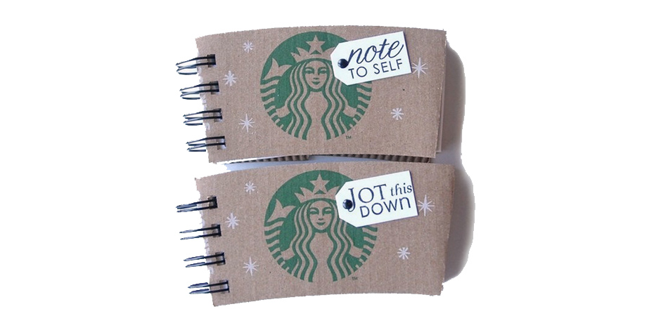 Coffee Sleeve Notebook slide