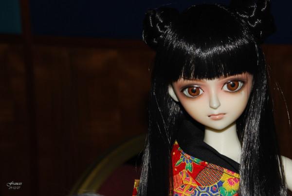 Obake (Japanese for ghost) Dolls killed with their long nails. (Photo Credit Frances Morgado under a Creative Commons Attribution 2.0 Generic License).