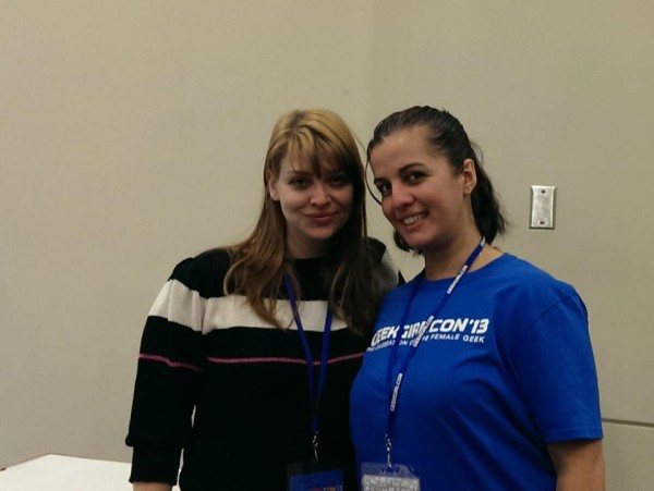 Geek Girl Con 2013 Amber Benson and Berrak Sarikaya
