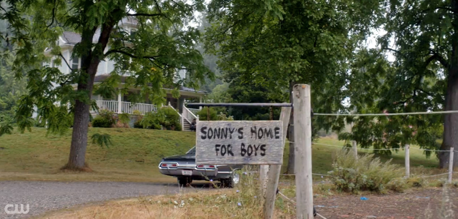 Supernatural Bad Boys Sonny's Home For Boys slide