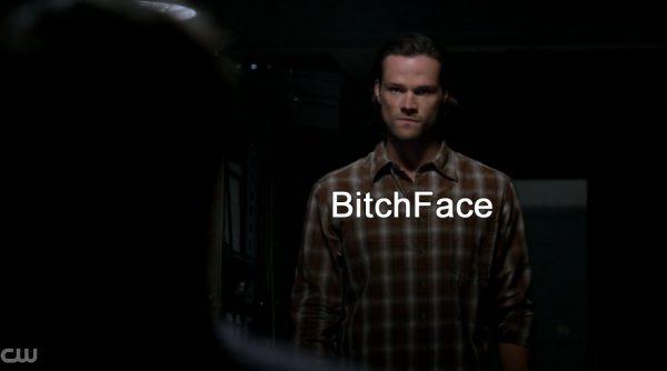 Supernatural Heaven Can't Wait Jared Bitch Face