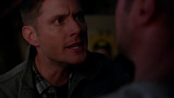Supernatural S9E8 Rock And A Hard Place protective Dean