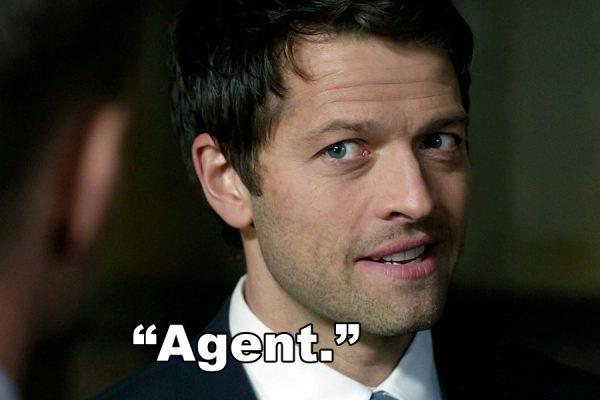 Supernatural Holy Terror Agent Castiel