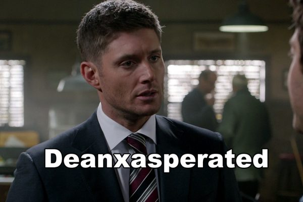 Supernatural Holy Terror Dean WInchester exasperated