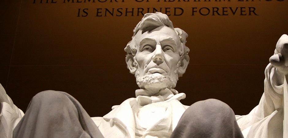 Abraham Lincoln memorial slide