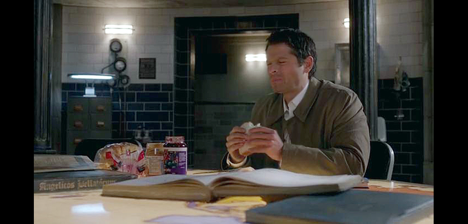 First Born Castiel PBJ slide