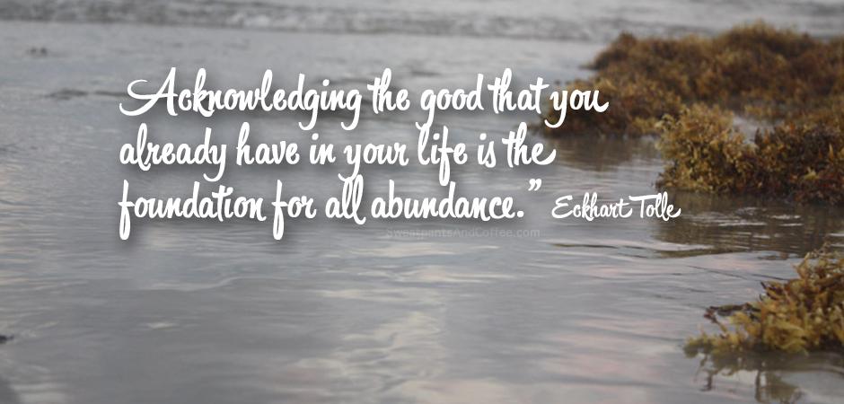 Gratitude slide