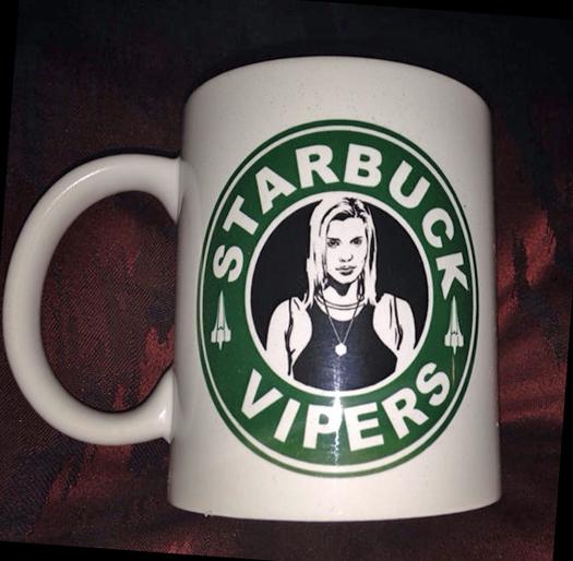 BSG Starbuck Mug