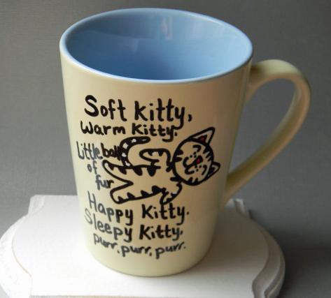 Big Bang Theory Soft Kitty Mug