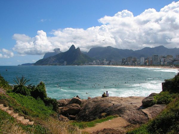 Rio: You can be the girl from Ipanema here. (Photo Credit: Cyro A. Silva under a Creative Commons Attribution 2.0 Generic License)