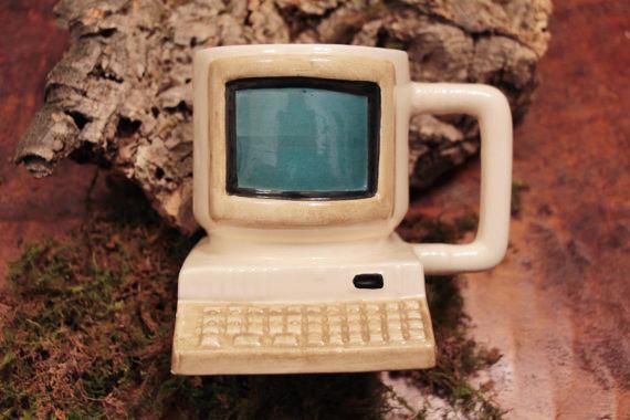 Old School Computer Mug