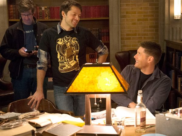 Misha Directing Behind The Scenes