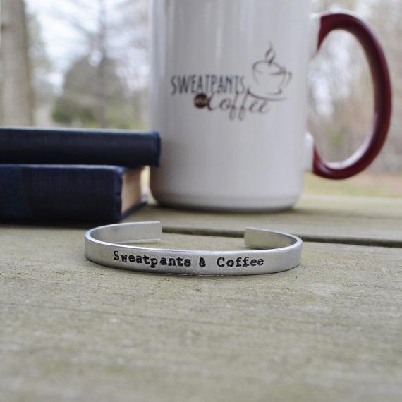 Sweatpants & Coffee bracelet