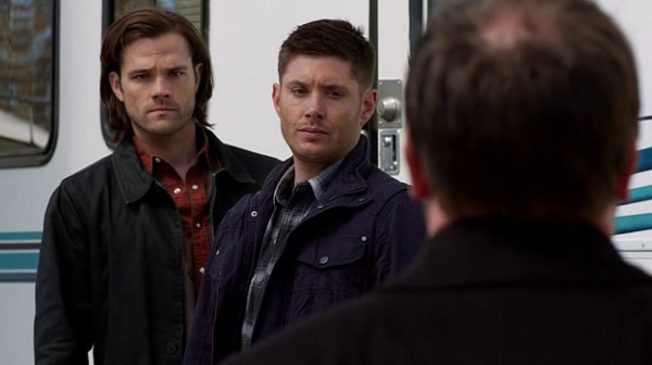 11 Supernatural SPN S9 E23 Sam Dean Winchester Crowley Jared Padalecki Jensen Ackles Mark Sheppard