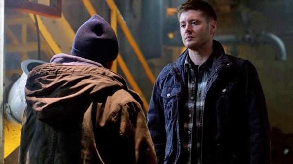 13 Supernatural SPN S9 E23 Dean Winchester Metatron Jensen Ackles Curtis Armstrong