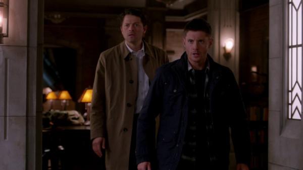 16 Supernatural SPN S9 E22 Stairway to Heaven Dean Winchester Castiel Jensen Ackles Misha Collins