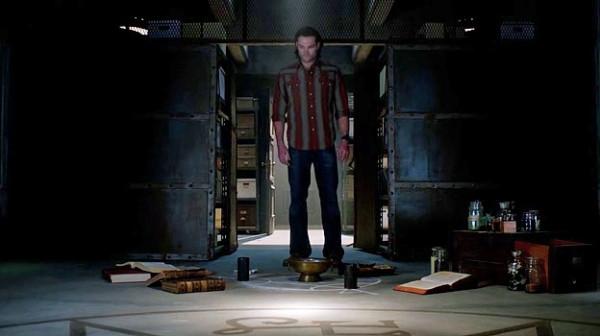 21 Supernatural SPN S9 E23 Sam Winchester Jared Padalecki Bunker