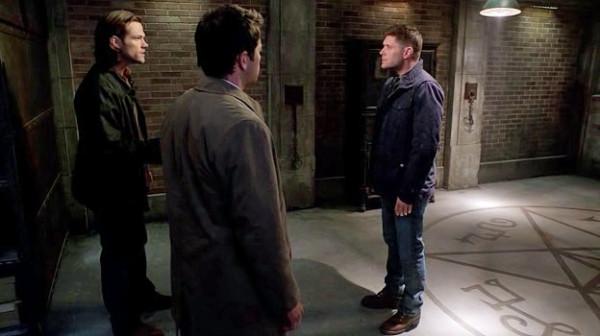 3 Supernatural SPN S9 E23 Sam Dean Winchester Castiel Jensen Ackles Jared Padalecki Misha Collins