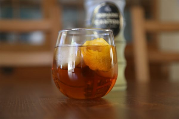 oz. sweet tea (iced tea that has been sweetened, clearly) 1 tbsp ...