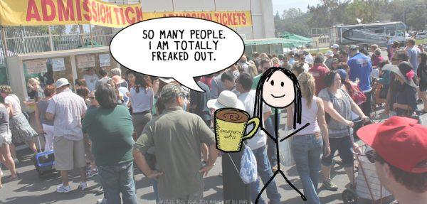 Los Angeles: Rose Bowl Flea Market by Eli Duke is licensed under a Creative Commons Attribution 4.0 International License.