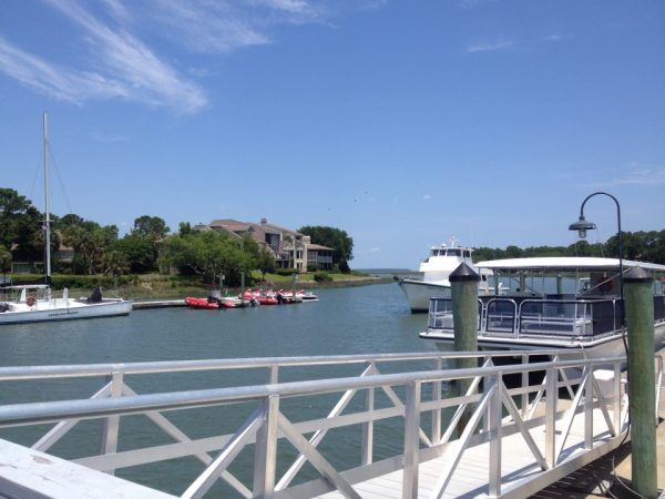 South Beach Marina Village at Sea Pines Plantation.