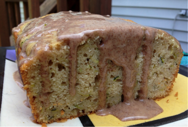 Cinnamon Glazed Zucchini Bread Recipe 1