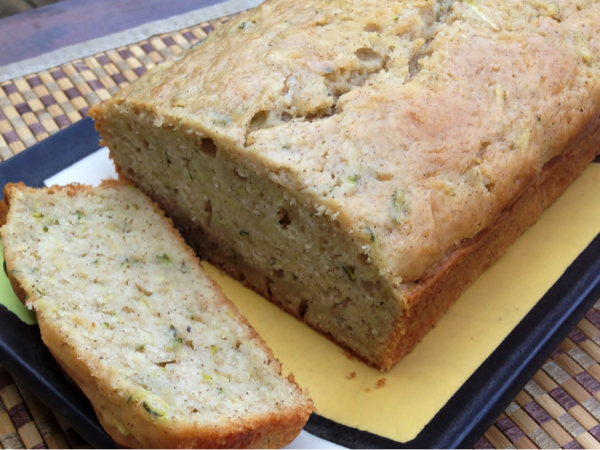 Cinnamon Glazed Zucchini Bread Recipe 2