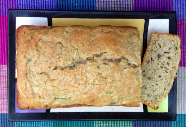 Cinnamon Glazed Zucchini Bread Recipe 3
