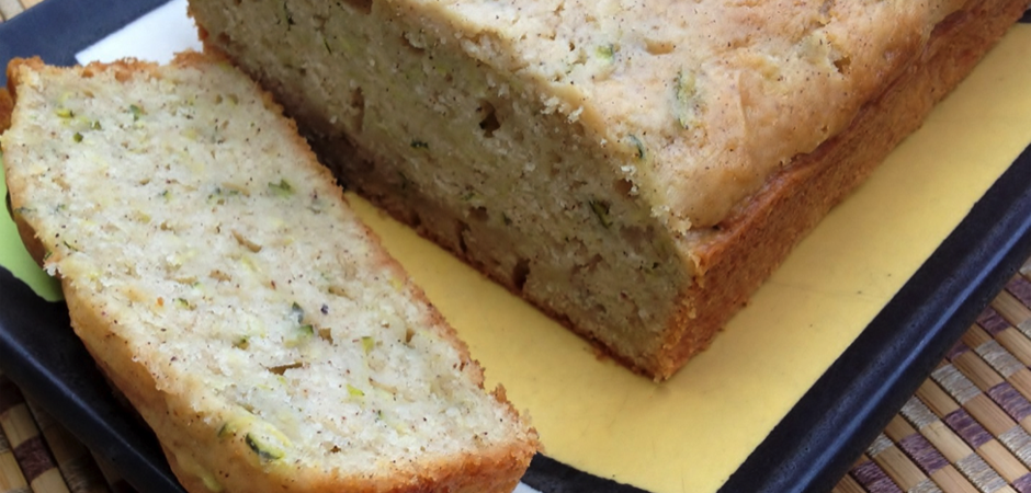 Cinnamon Glazed Zucchini Bread Recipe slide