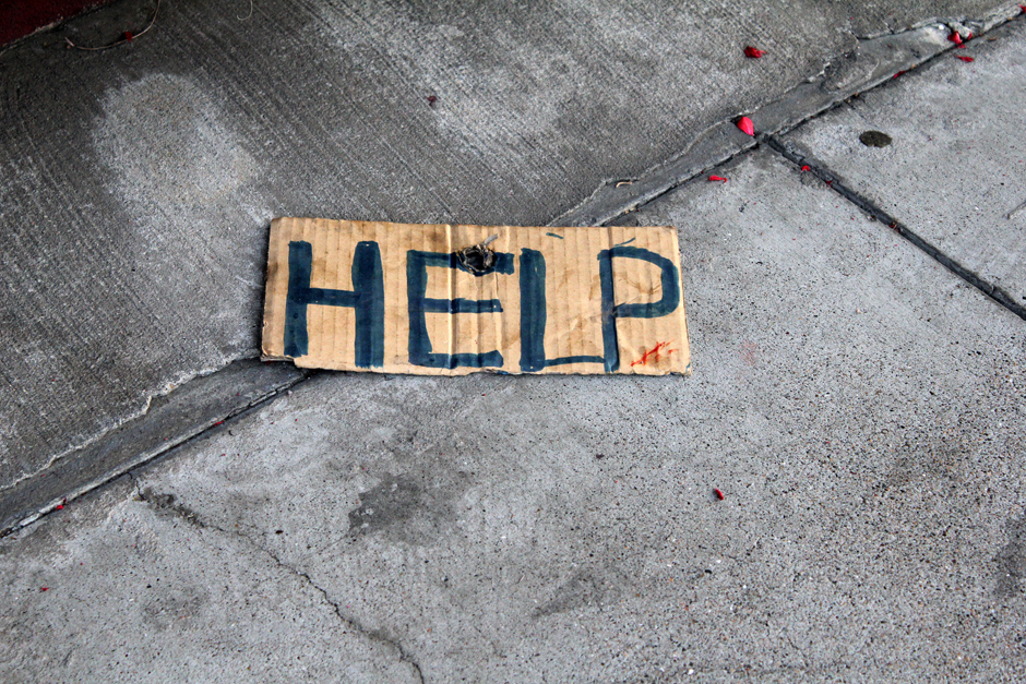 Help by Quinn Dombrowski