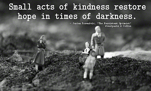 Small Acts Of Kindness Jordan Rosenfeld_