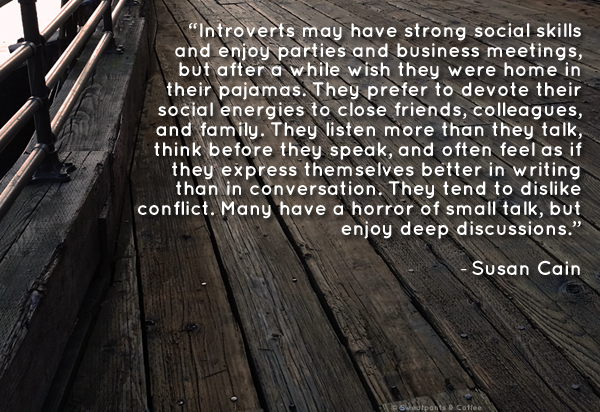© Susan Cain introvert quote boardwalk image 600px