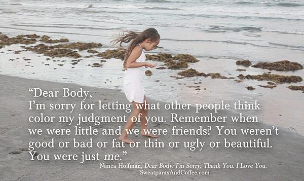 Dear Body, I'm Sorry