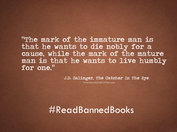 J.D. Salinger Catcher In The Rye quote