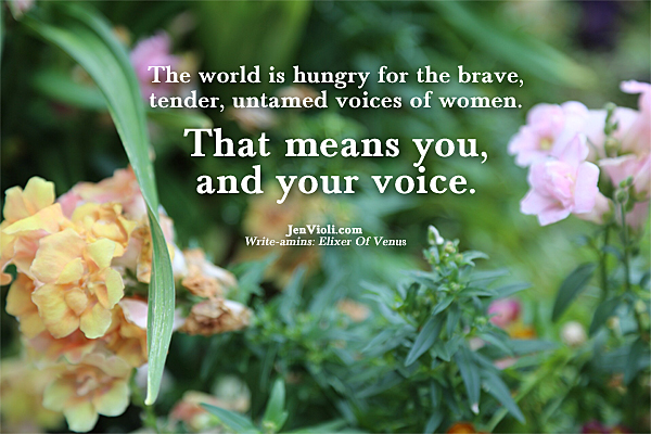 Jen Voili Write-amins_the tender untamed voices 600px