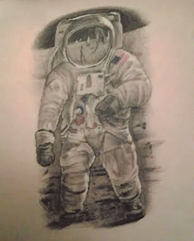 neil armstrong tattoo - photo #3