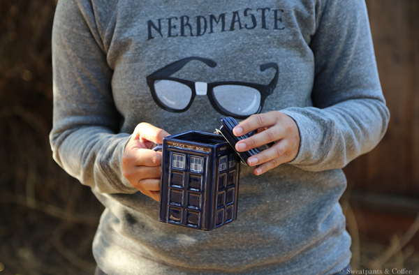 Nerdmaste Nerd Tribe Sweatpants And Coffee