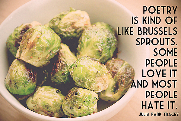 Oven Roasted Brussels Sprouts by Saleeha Bamjee WP