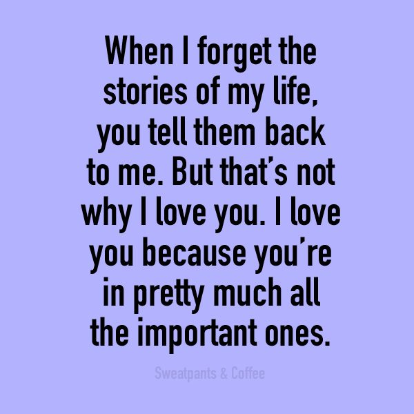 You're in all the important stories